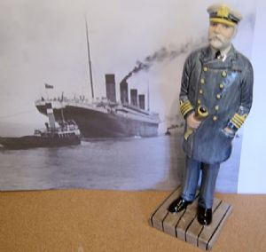 Lorna Bailey - Cpt. Smith (Titanic) Figurine - 13/100 - SOLD